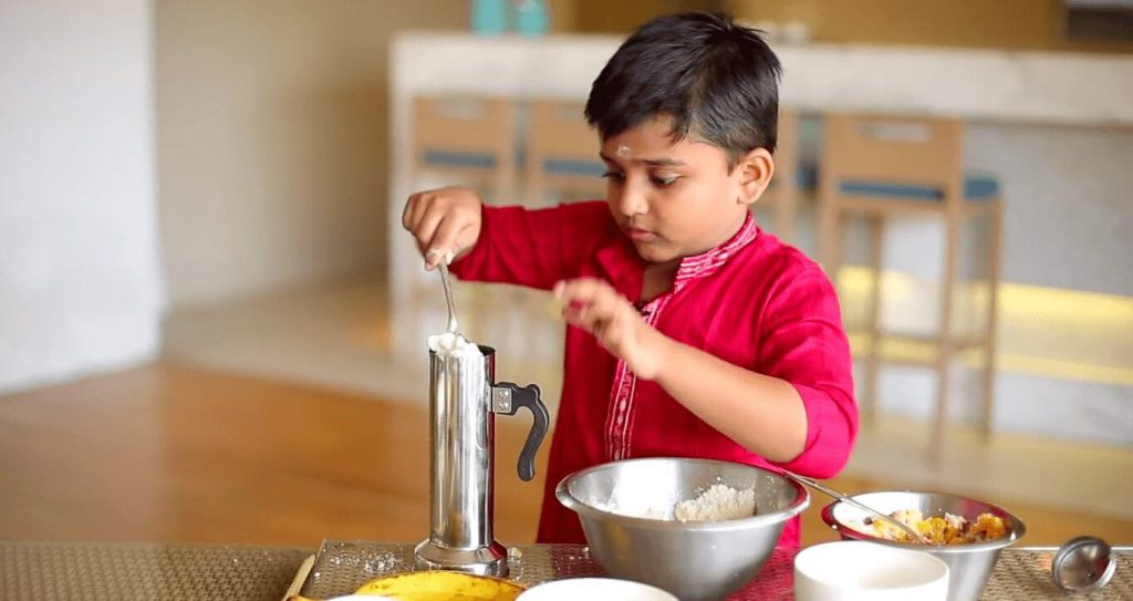 Nihal Raj Young Indian chef